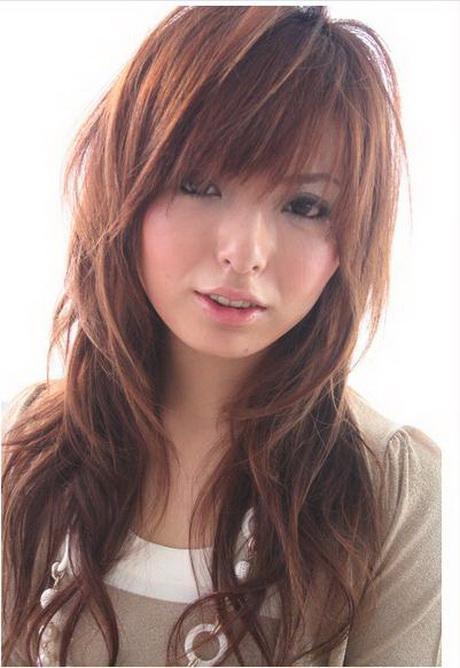 Korean long layered hairstyles