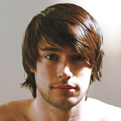 Long hair boy haircuts