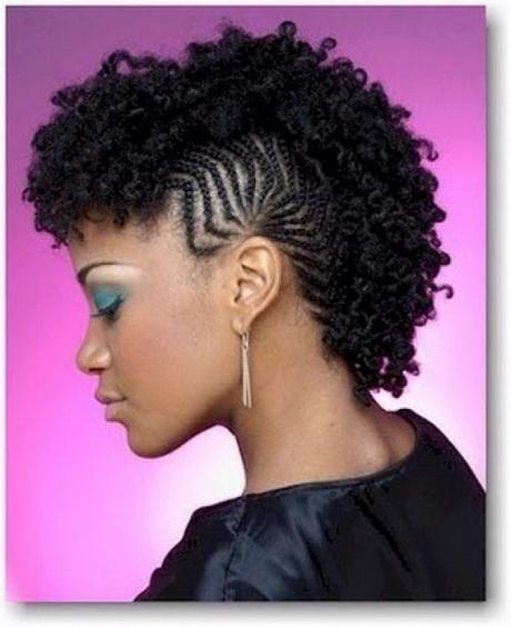 Mohawk braids hairstyles