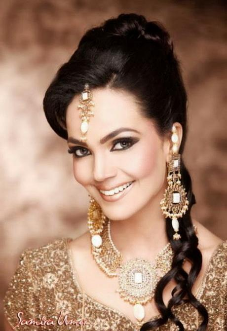 Pakistani Bridal Hairstyle Trend For Women 2014