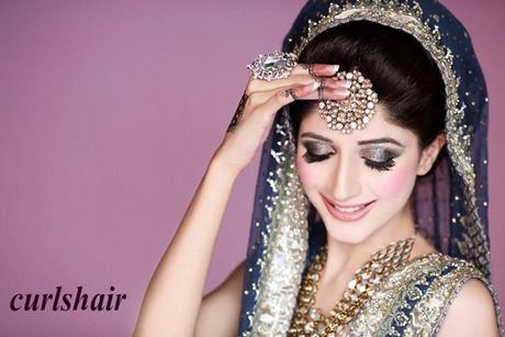 Pakistani Wedding Hairstyles 2015
