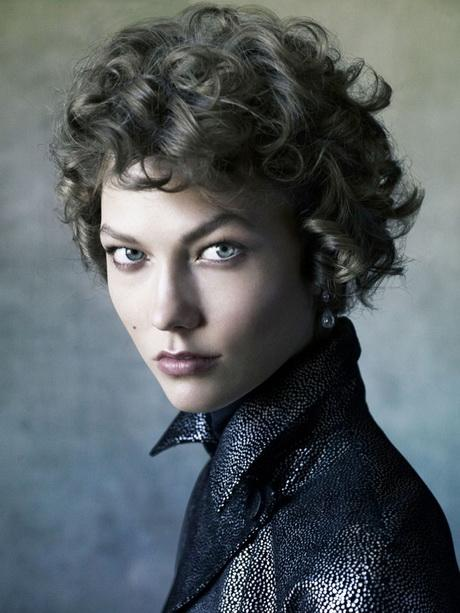 Short Curly Asymmetrical Hairstyles