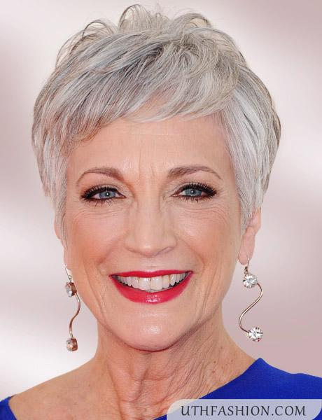 Short hair styles for over 50s