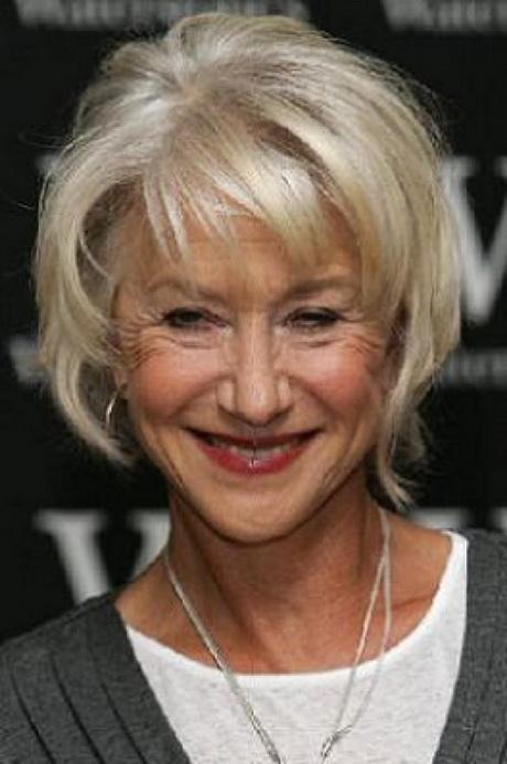Short hair styles for over 60
