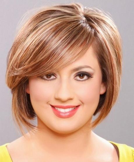 Short Hair Styles Round Face