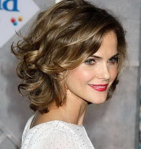 Short hairstyles curly thick hair
