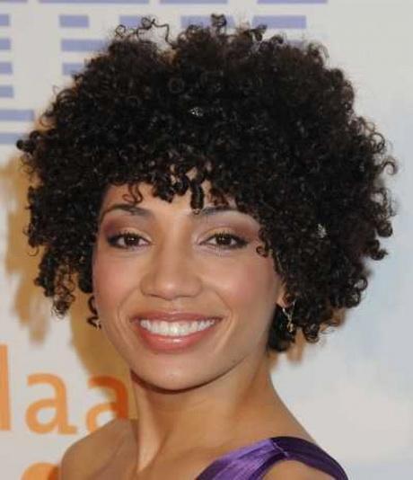 Short natural curly haircuts