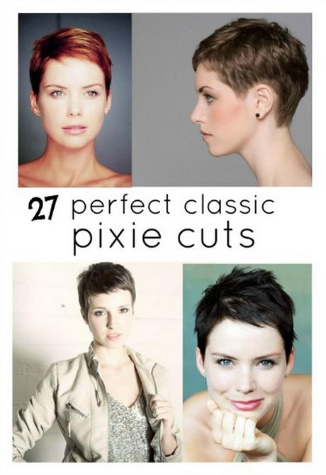 The Back Of Pixie Haircuts - Classic pixie hairstyle