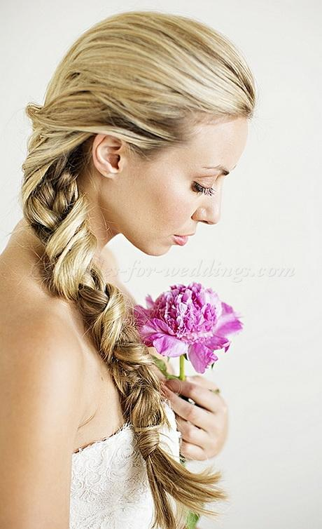 Bridal ponytail hairstyles