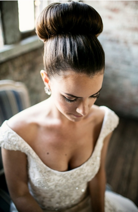 Bun Wedding Hair - Wedding hairstyle buns