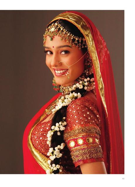 Hindu Wedding Bridal Hairstyles
