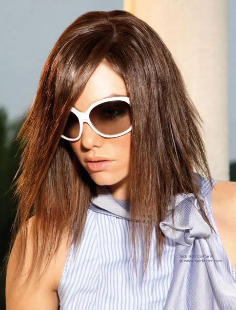 Medium Length Razor Haircuts