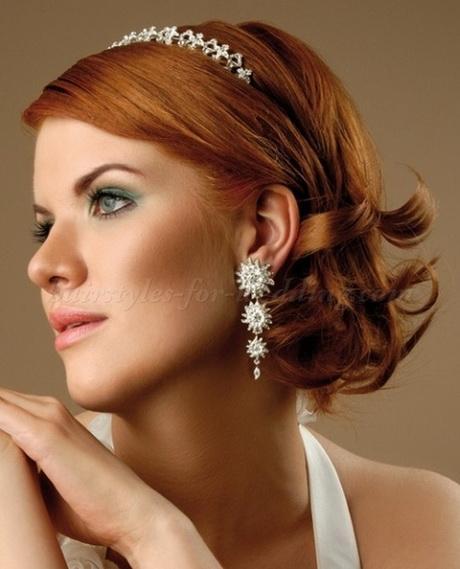Mid length wedding hair