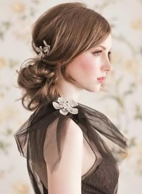 Simple bride hairstyles