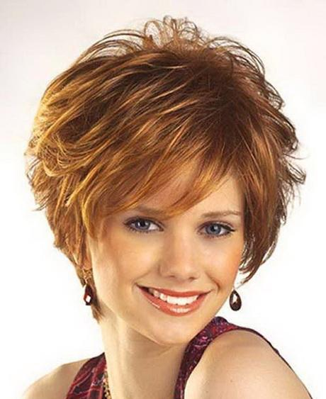 Cutest Layered Short Hairstyle 2015 for Women Over 40