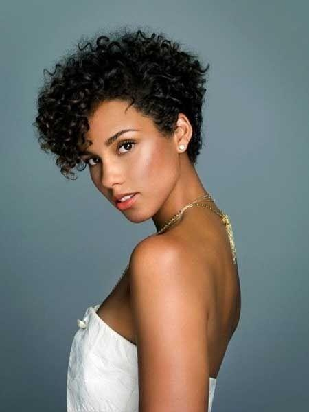 Black short curly hairstyles 2017 short bangs with curl urmus Choice Image