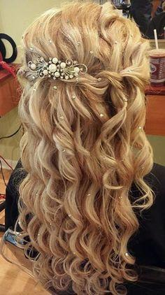 Extraordinary Prom Hairstyles 2017 Half Up Down 12 For Inspiration Article