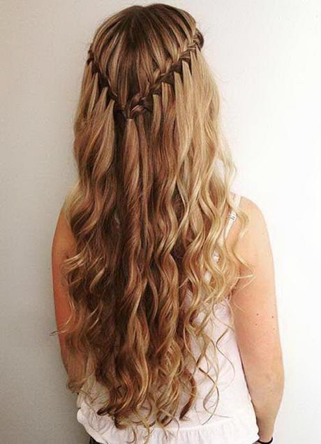 Prom Hairstyles Down 2017 : Long prom hairstyles for women in fashion qe