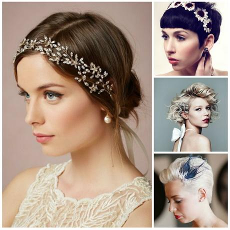 Short hair wedding styles 2017 here they are wedding hairstyles for short hair 2017 junglespirit Image collections