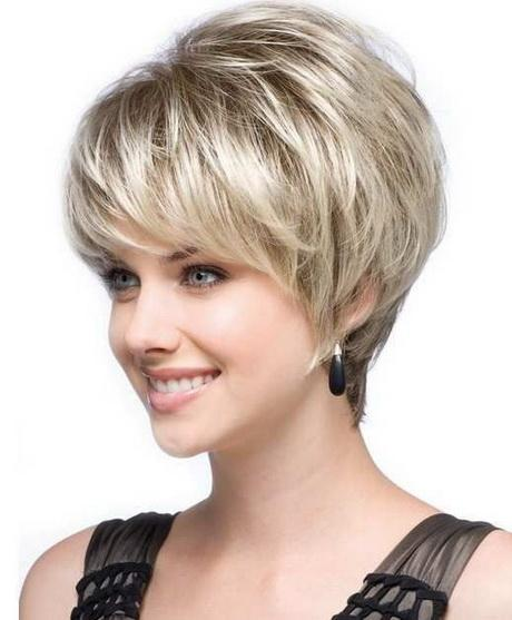 Short Haircuts For Round Faces 2017