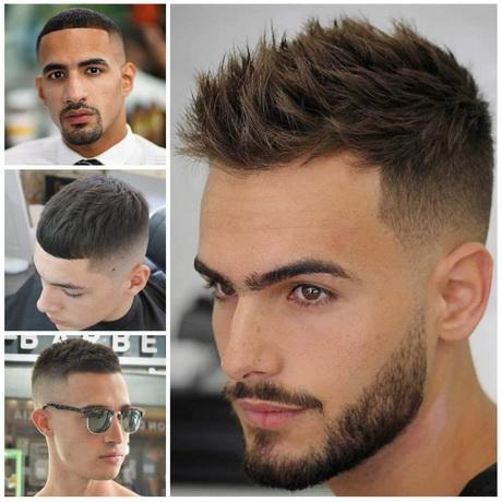 Short hairstyles men 2017