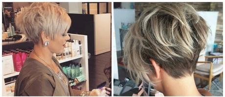Hairstyle short hair 2018