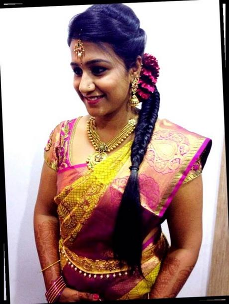 South Indian Bride Bridal Hairstyle Indianjewellery