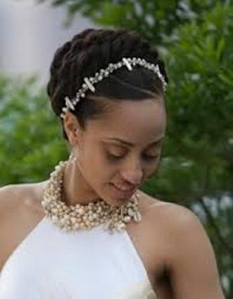 Bridal hairstyles black brides