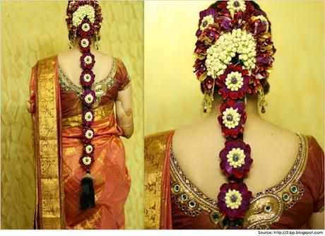 Bridal Hairstyles For South Indian Wedding 54 2