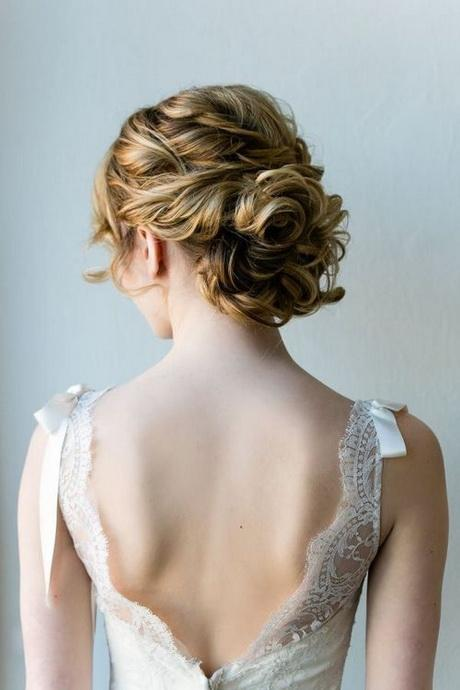 4 Lacy Medium Length Wedding Updo Hairstyle With Fabulous Texturew500