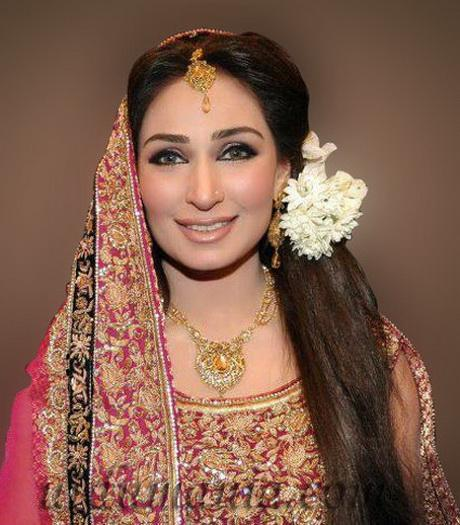 Latest Pakistani Bridal Hairstyle: Latest Bridal Hairstyles In Pakistan