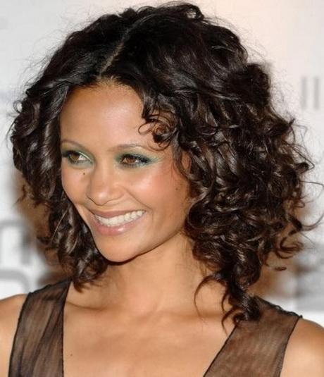 Medium Length Haircuts Curly Hair Layered