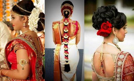 North Bridal Hairstyles With Flowers : North indian bridal hairstyles with flowers