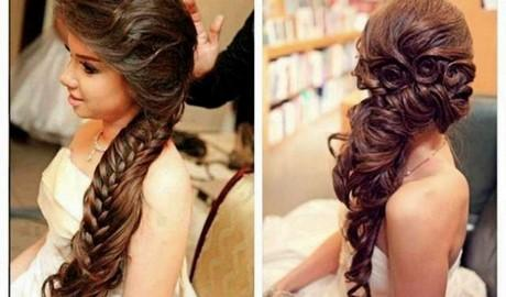 Long Hairstyles For Wedding Party On Wedding Hairstyles With Hairstyle Best  18