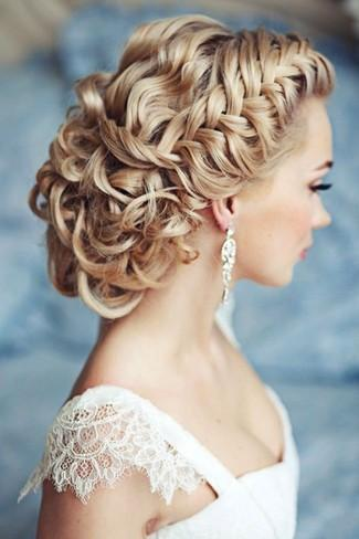 Braided Wedding Hair Upstyles Braided Wedding Hair Upstyles