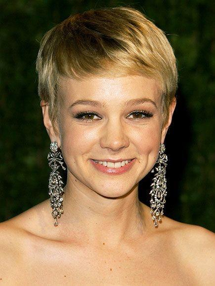 Brilliant Carey Mulligan Pixie Cut Hairstyles For Men Maxibearus