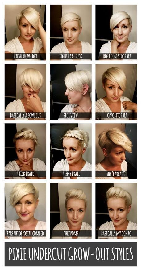 growing hair from pixie cut