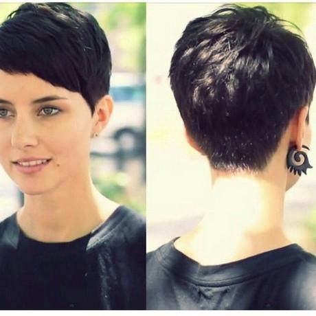 Pixie cut in the back