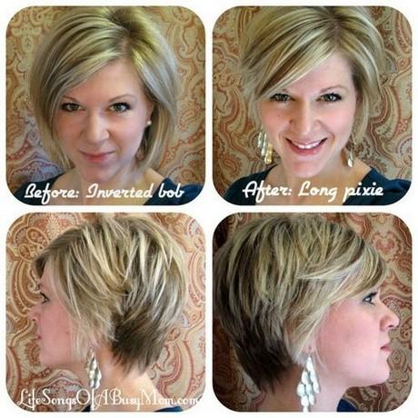 pixie haircut front and back