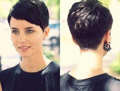 Short hairstyles pixie crop
