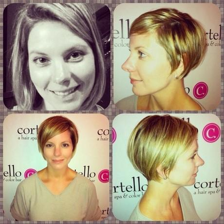 36 Best before and after images | Short hair dos, Short ...