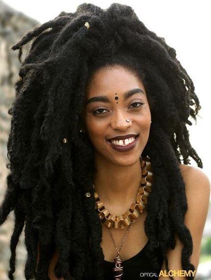 Naturally Black People Half Curly Half Straight