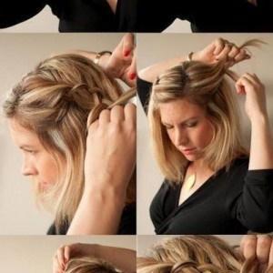 Easy hair updos to do yourself short hair updos for prom easy updos for short hair to do yourself solutioingenieria Gallery