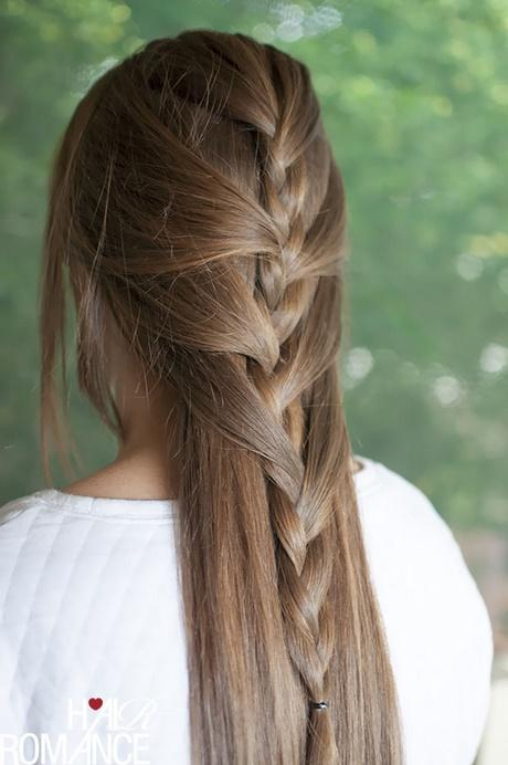 French Plait Hairstyles