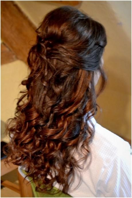 Half Up Curly Hair Best Curly Hair Style 2018