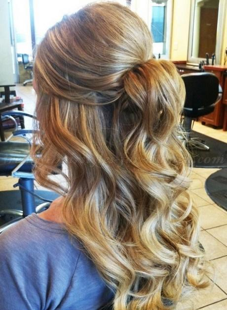 31 Half Up Down Prom Hairstyles