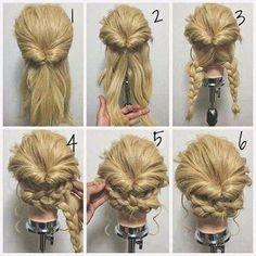Really easy hair updos cool quick and easy hairstyles quick and easy hairstyles for long hair straight hair photo related postsclassy blonde braided updo for womenlatest short solutioingenieria Gallery