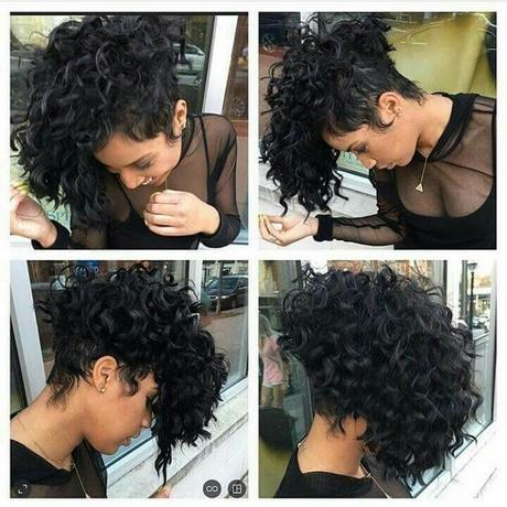 Very Short Curly Hair Weave Styles