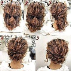 Updos you can do yourself romantic easy updo hairstyle tutorial for short hair sweet and simple prom hair styles tap the link now to find the hottest products for better beauty solutioingenieria Gallery