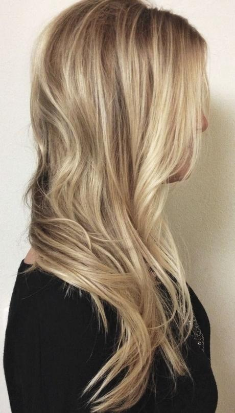 Warm Blonde Hair